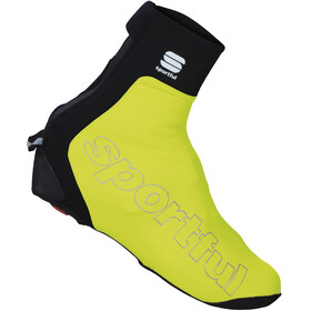 Sportful Roubaix Thermal Booties yellow fluo
